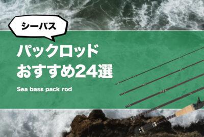 シーバス用パックロッドおすすめ24選!安いモバイルロッドや4ピースロッドも!(コンパクトロッド)