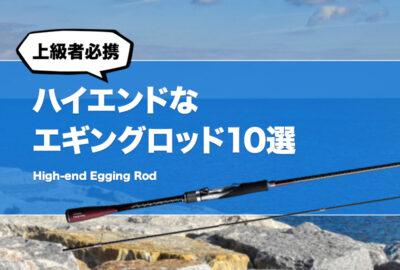上級者必携!ハイエンドなエギングロッド10選!玄人も唸る最高峰ロッドはどれだ?