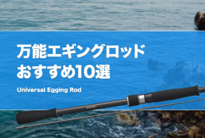 万能エギングロッドおすすめ10選!汎用性の高いイカ釣り竿はどれ?