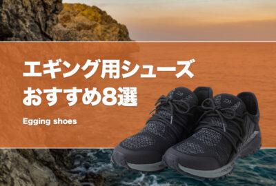 エギング用シューズおすすめ8選!テトラや磯でも使える靴はどれ?